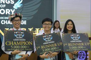 Sinh viên trường Đại học Ngân Hàng TP.HCM đạt giải nhất cuộc thi 'Chiến lược kinh doanh 2018'