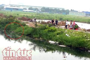 Phát hiện xác người đàn ông nổi trên nhánh kênh Tham Lương