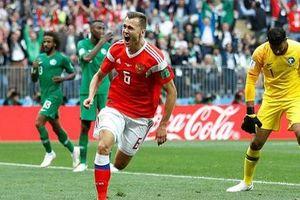 Vào sân được 20 phút, cựu cầu thủ Real ghi bàn thứ 2 cho đội tuyển Nga