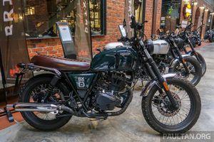 Brixton Motorcycles trở lại châu Á với những mẫu mô tô có giá hấp dẫn