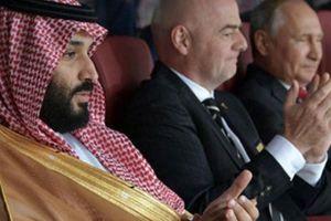 Quê nhà chiến tranh, Thái tử Ả Rập Saudi sang Nga xem World Cup