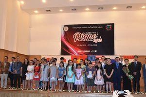 105 thí sinh thi Piano TPHCM 2018
