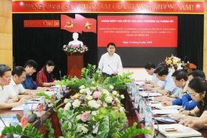 Chủ tịch UBND thành phố Nguyễn Đức Chung kiểm tra việc thực hiện Chương trình 06-Ctr/TU tại quận Đống Đa