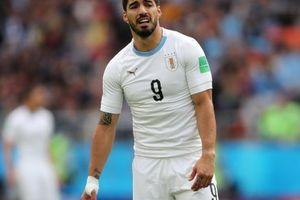 Suarez quên cách ghi bàn, Gimenez giúp Uruguay thắng Ai Cập ở phút cuối