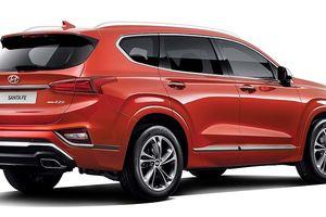 Hyundai SantaFe Inspiration phiên bản đặc biệt giá 760 triệu đồng