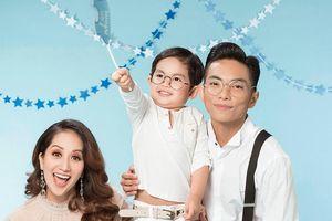 Vợ chồng 'Nữ hoàng Dance-sport' Khánh Thi khoe có thêm công chúa