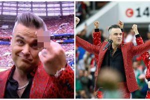 Robbie Williams bị cả thế giới ném đá vì dám làm điều này ngay trong lễ khai mạc World Cup 2018