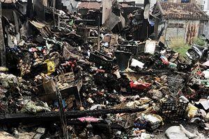 Khánh Hòa: Nhiều tiểu thương bất lực nhìn hàng hóa cháy rụi