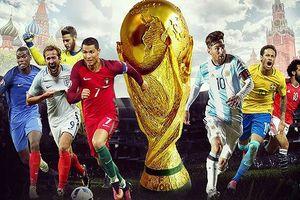 Lịch thi đấu World Cup 2018 hôm nay (15/6): Ai Cập quyết đấu Uruguay
