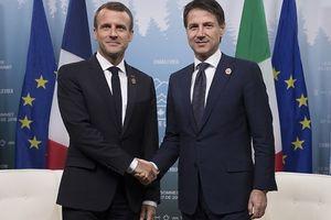 Tân Thủ tướng Italy thăm Pháp giữa lúc quan hệ 2 nước ở mức thấp nhất