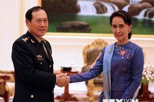 Trung Quốc, Myanmar cam kết duy trì quan hệ láng giềng gần gũi