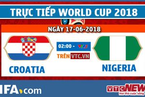 Video kết quả Croatia vs Nigeria, bảng D bóng đá World Cup 2018
