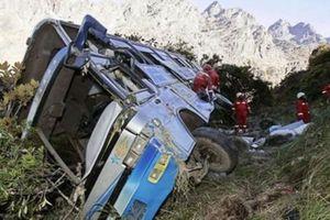 Tai nạn xe buýt thảm khốc tại Bolivia
