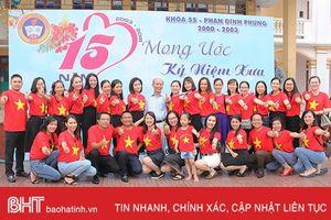 '15 năm, ngày trở về' của cựu học sinh trường THPT Phan Đình Phùng