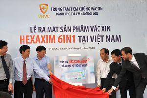 Vắc xin Hexaxim '6 trong 1' mới của Pháp đã có tại Việt Nam