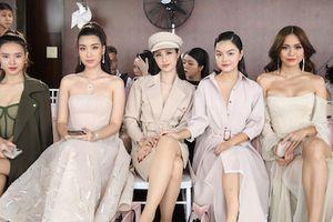Hoa hậu và dàn sao Việt khoe sắc ở show thời trang