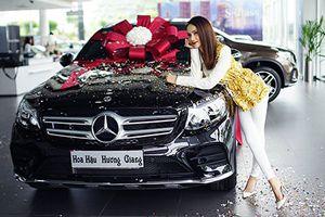 Hoa hậu Hương Giang tậu Mercedes-Benz GLC 300 4Matic hơn 2 tỷ