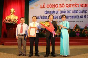 Trường ĐH Kinh tế (ĐH Huế) nhận chứng nhận đạt chuẩn chất lượng giáo dục