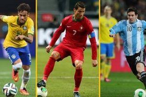 Xin Neymar đừng 'dại' như Ronaldo và Messi!