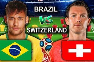 Nhận định Brazil vs Thụy Sĩ: Vũ điệu Samba của Neymar