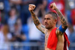 Clip: Tuyệt phẩm của Kolarov giúp Serbia thắng trận