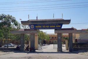 Thanh Hóa: Làm rõ vụ hiệu trưởng trường tiểu học bị tố tham ô tài sản
