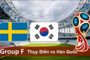 Xem trực tiếp bóng đá trận Thụy Điển vs Hàn Quốc trên kênh VTV nào, giờ nào ngày 18/6?
