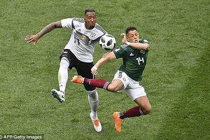 Phung phí cơ hội, ĐKVĐ Đức 'phơi áo' trước Mexico tại Luzhniki