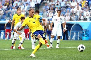 Thụy Điển 1 - 0 Hàn Quốc: Công nghệ VAR quyết định trận đấu