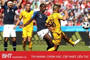 NÓNG: Pogba bị FIFA tước bàn thắng ở trận Pháp 2-1 Úc