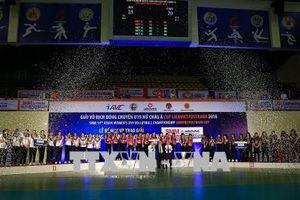 Đội U19 Nhật Bản giành giải nhất Giải Bóng chuyền U19 nữ châu Á quốc tế Cup LienVietpostbank