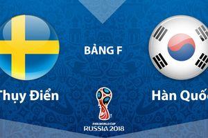 Dự đoán kết quả trận Hàn Quốc vs Thụy Điển, World Cup 2018
