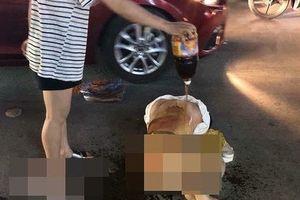 Khởi tố vụ nữ chủ tiệm spa bị lột đồ, đổ nước mắm giữa phố ở Thanh Hóa