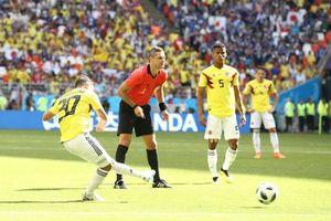 Nhật Bản chiến thắng Colombia đầy kịch tính