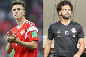 Lịch thi đấu World Cup 2018 hôm nay Ai Cập quyết đấu với Nga