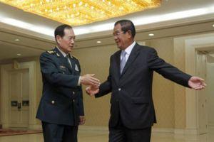 Trung Quốc cấp hơn 100 triệu USD viện trợ quân sự cho Campuchia
