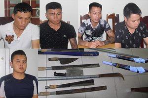 Thanh Hóa: Tóm gọn nhóm côn đồ đòi nợ thuê chuyên dùng súng bắn nhà dân