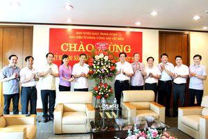 Lãnh đạo tỉnh Bắc Ninh thăm, chúc mừng Báo điện tử Đảng Cộng sản Việt Nam