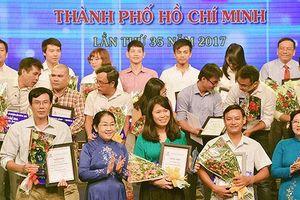 Báo Sài Gòn Giải Phóng nhận 8 giải báo chí TPHCM năm 2018