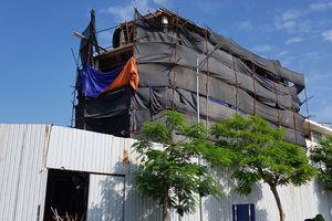 Cưỡng chế phá dỡ công trình xây dựng không phép tại Khu đô thị mới Văn Phú
