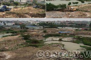 Quận Hải An, Hải Phòng: Tràn lan san lấp đất nông nghiệp để sử dụng trái phép ở phường Đằng Lâm
