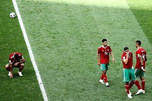 Morocco thành đội đầu tiên bị loại ở World Cup 2018