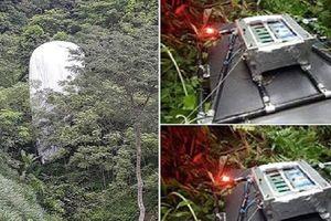 'Vật thể lạ' chứa máy quay từ trên trời rơi xuống rừng ở Hà Giang là thiết bị dự báo thời tiết