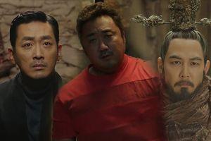 Teaser 'Thử thách thần chết 2' hé lộ trận chiến cát - tuyết và đại dương, Ma Dong-Seok vào vai thần ký ức