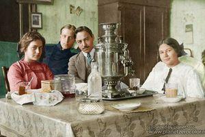 Những bức ảnh tô màu cực ấn tượng về nước Nga xưa