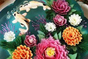 Những chiếc bánh thạch hoa 3D siêu đẹp, chỉ muốn ngắm không nỡ ăn