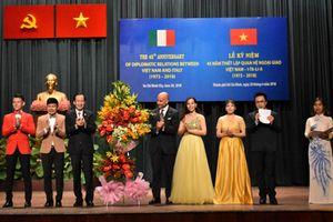 Kỷ niệm 45 năm thiết lập quan hệ ngoại giao Việt Nam và Italia