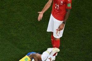 Chơi xấu Neymar, ngôi sao Thụy Sĩ bị dọa giết