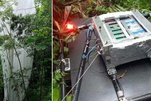 Xác định được vật thể 'lạ' phát sáng rơi xuống rừng ở Hà Giang