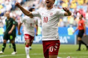 Eriksen lập công, Đan Mạch vẫn bị Australia 'cưa điểm'
